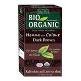 Indus Valle Bio Organico Henna Natural Cafe Oscuro Color De