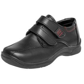 Zapato Escolar Niño Karushi 412 Negr * 18-21 Envio Inmediato