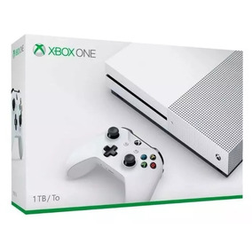 Xbox One S , 1tb, 4k, Slim, Branco Oferta - Envio Imediato!