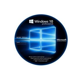 Windows 10 Pro 32-64 Bits (disco De Arranque) + Licencia 1pc