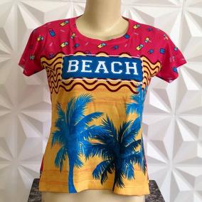 T-shirts Blusa Roupa Camisa Feminina Moda Picolé Sulamita