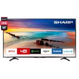 Smart Tv Led Sharp 50 4k Uhd Netflix Wifi Tda Nueva!