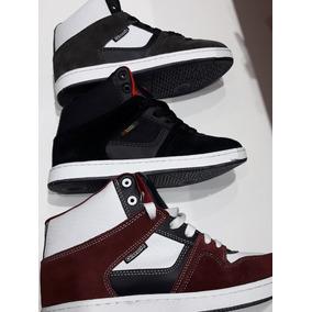 Zapatillas Bronx Glock Cuero Apliques Varios Colores