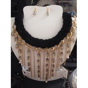 4b166d69b7e9 Collar De Tela - Collares y Cadenas Oro en Mercado Libre México