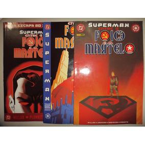 Superman Entre A Foice E O Martelo 1 2 3 Panini 2004 Excelen