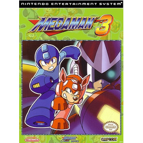 Pôster Video Game Retrô Nintendo Nes Capcom Mega Man 3 # B