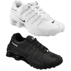 cbe17fecc35 Nike Shox Branco Azul Bebe Tenis - Nike Outros Esportes para ...