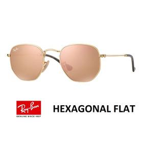 Rayban Hexagonal Rosa - Óculos De Sol Ray-Ban no Mercado Livre Brasil 20fd30b006