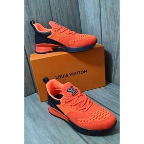 Tenis/sneakers Louis Vuitton V.n.r Orange