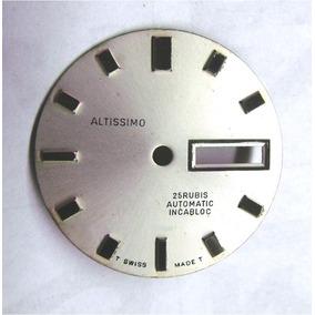 84ddf3fd4b2 Mostrador Relógio De Pulso Altíssimo Automatic Branco Soleil