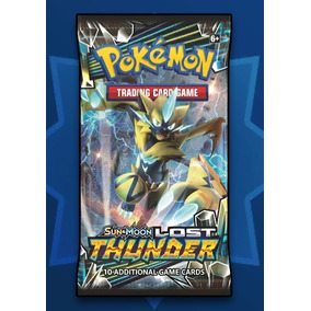 100x Booster Pokemon Tcg Online Lost Thunder Sm8