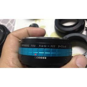 Adaptador Fotodiox Nikon - Nex Con Anillo De Apertura