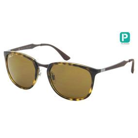 0affaf328072a Óculos Ray Ban Rb3506 132 83 64 13 Marrom Polarizado - Óculos no ...