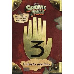 Livro O Diário De Gravity Falls - Vol. 3 - Livro Português