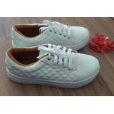 Tenis Metalasse Branco Brazil Shoes