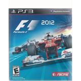F1 2012 Para Play Station 3 Disco Físico