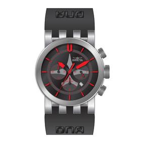Relógio Masc Dna Cronógrafo Black Dial Men Watch 25056