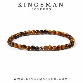 Brazalete Minimalista Ojo De Tigre Kingsman Moda 2018 Honbre