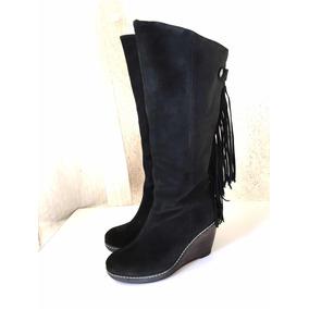 Botas Gacel De Gamuza Negra - Vestuario y Calzado en Mercado Libre Chile 7fe8375db57be