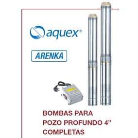 Bomba Sumergible Tipo Bala Acero Inoxidable 2 Hp Completa