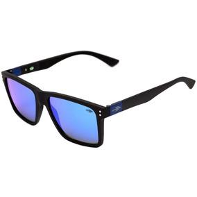 Mormaii Cairo - Óculos De Sol Preto Fosco  Azul Espelhado 82227166a8