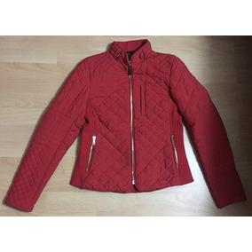 ad4f90fed0b Padrisima Chamarra Zara Skinny Roja M Original!