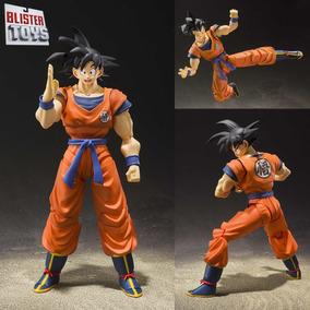Boneco S.h Figuarts Son Goku 2.0 Dragon Ball Normal Lacrado