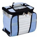 Bolsa Térmica Ice Cooler Mor - Capacidade 7,5 Litros - Azul