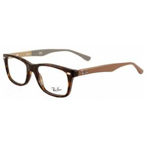 Armação Óculos De Grau Ray Ban Wayfarer Rb5228 Preto laranja ... d07ab7be76