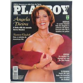Revista Playboy 291 Out 1999 Angela Vieira 9