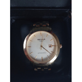 Relógio Seculus Masculino Clássico 20008gpsgda1