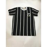 Camisa Retro Alvinegro Paulista 1977
