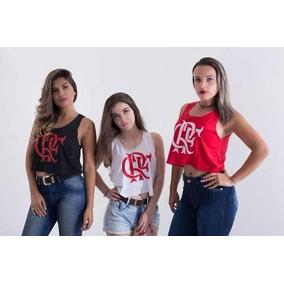 222de47feca Regata Raça Rubro Negra - Camisetas e Blusas Cropped no Mercado ...