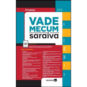 Vade Mecum Saraiva -27ª Ed. 2019