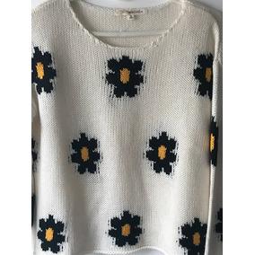 Sweater Bordado Flores Mujer - Ropa y Accesorios en Mercado Libre ... e9952ffbfd67