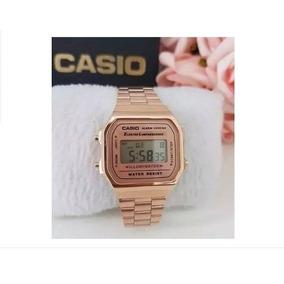 4ba22c05393 Relogio Casio Original Rose - Relógio Casio Unissex no Mercado Livre ...