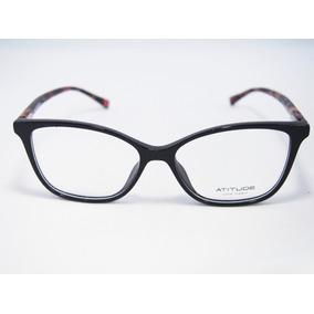 Armacao Oculos De Acetato Da Atitude - Óculos no Mercado Livre Brasil 183359da93