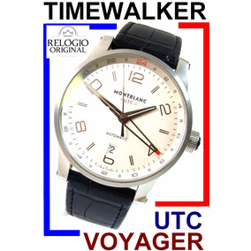 Montblanc Timewalker Voyager Utc Automático 42 Mm!!!