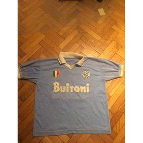 Camiseta Napoli Maradona Retro - Camiseta del Napoli para Adultos en ... 1877639753d6c