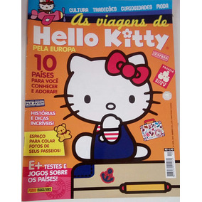 Revista As Viagens De Hello Kitty Pela Europa