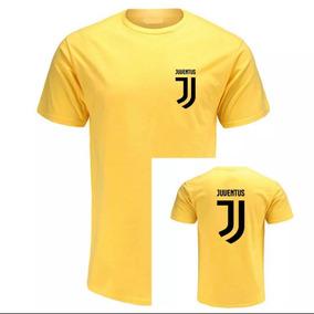 3 Camiseta Camisa 100% Algodão Juventus Futebol Cr7 Novidade 041a345687442