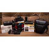 Kit Câmera Canon Rebel T3i