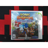 Sonic Boomshattered Crystal Para Nintendo 3ds Y 2ds