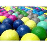 100 Pelotas Para Futbolito Con Diseño De Balón De Colores