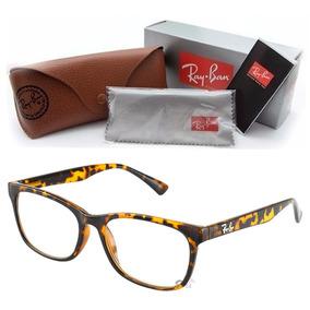 9f7a389ac1858 Oculos Masculino Grau Quadrado - Óculos Marrom no Mercado Livre Brasil