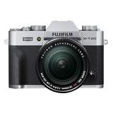 Cámara Fujifilm X-t20 +lente Xf18-55mm Plata - Envío Express