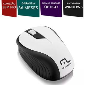 Mouse S/ Fio 1200dpi Usb Nano 2.4ghz Multilaser Mo216 Branco