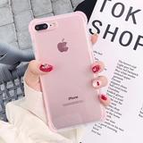 Funda Iphone Antiknock Borde Uso Rudo 6 7 8 Plus X Xr Xs Max