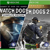Watch Dogs 1 :complete + Watch Dogs 2: Gold Edition Xbox One