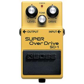 Pedal Guitarra Super Overdrive Sd1 Boss